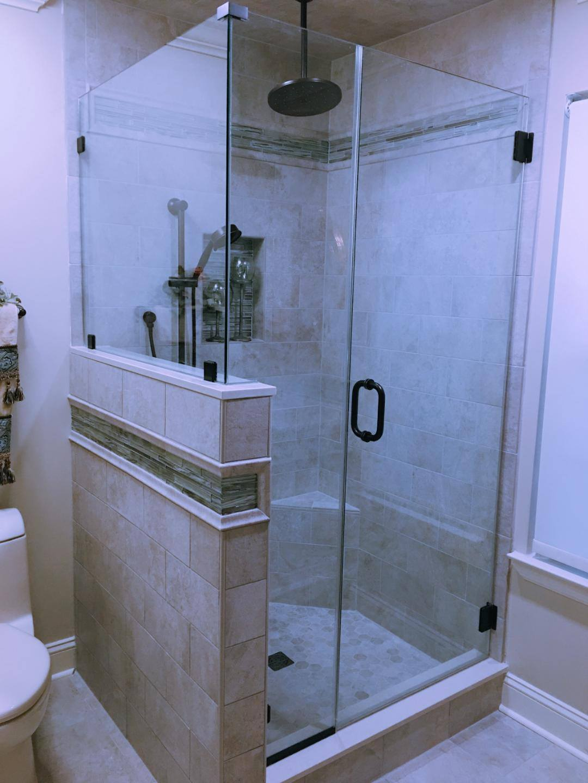 Custom Frameless Shower Doors – Twin City Glass Design